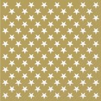Servietten 33x33 cm - Xenia Gold