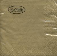 Servietten 25x25 cm - gold