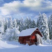Servietten 33x33 cm - Sunny Winter Morning