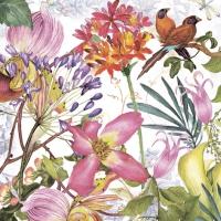 Servietten 33x33 cm - Exotic Garden