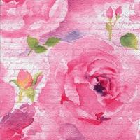 Servietten 33x33 cm - Rosa Delicada pink