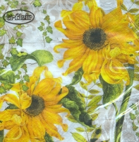 Lunch Servietten Girasoles Amarillos beige