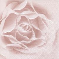 Servietten 33x33 cm - Scent of a Rose shiny rosé