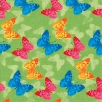 Servietten 33x33 cm - Papillon green