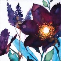 Servietten 33x33 cm - Flor del Ciruelo