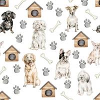 Servietten 33x33 cm - Pet Dogs