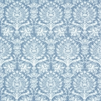 Servietten 33x33 cm - Royal Damask silver