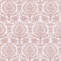 Servietten 33x33 cm - Fine Damask shiny rosé