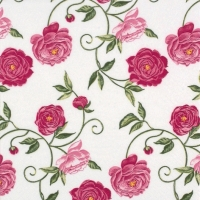 Servietten 24x24 cm - Peony pink
