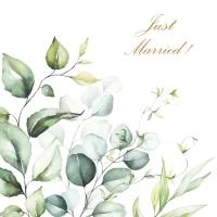 Servietten 33x33 cm - Romantic Marriage