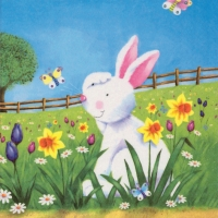 Servietten 33x33 cm - Easter Hide and Seek