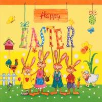 Lunch Servietten Happy Easter Gang