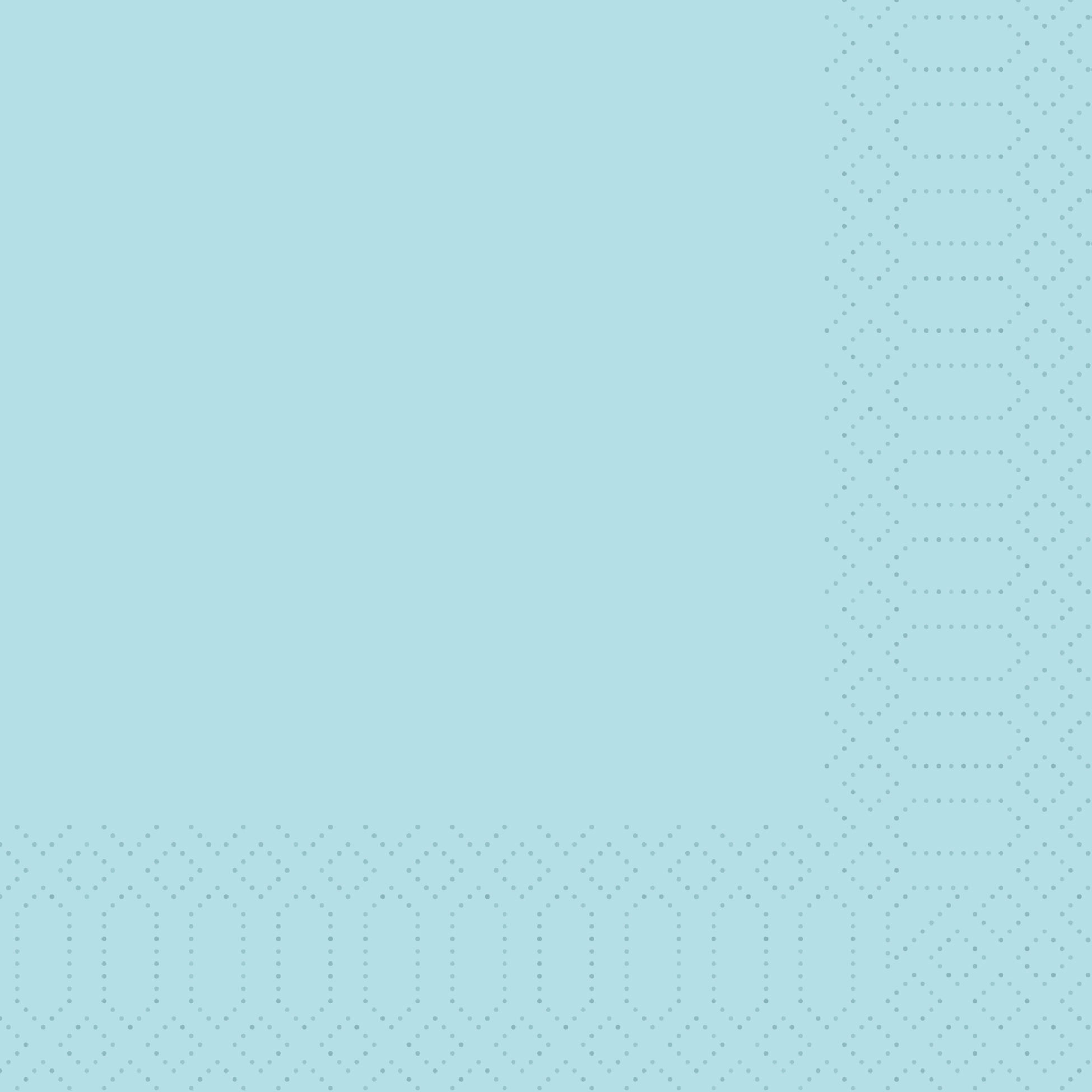 Zelltuch Servietten 33x33 cm - mintblau