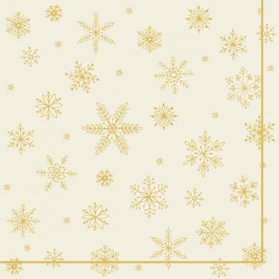 Servietten 33x33 cm - CLASSIC ALLOVER (V&B) Gold