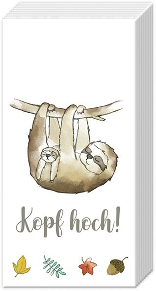 Taschentücher - KOPF HOCH