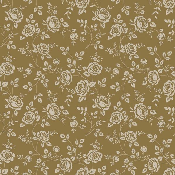 Servietten 33x33 cm - Little Roses Gold