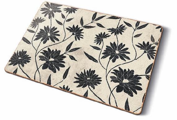 Tischsets Korkunterseite kork tischsets flowery decor bei servietten wimmel österreich