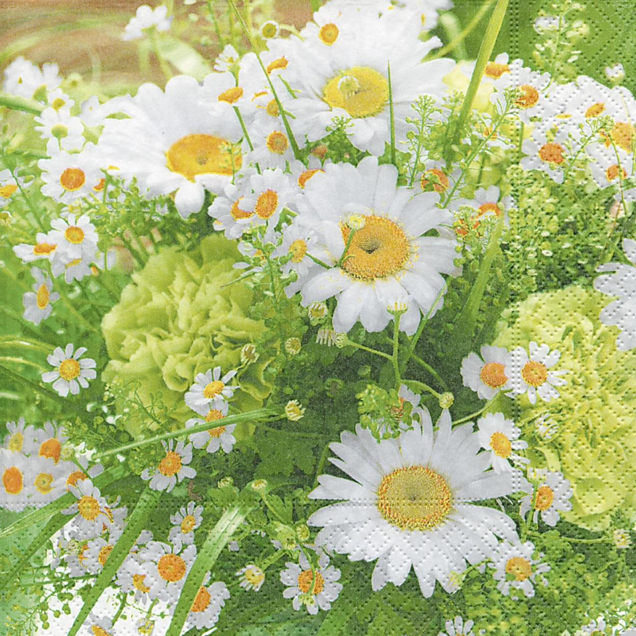 Servietten 25x25 cm - Summer bouquet