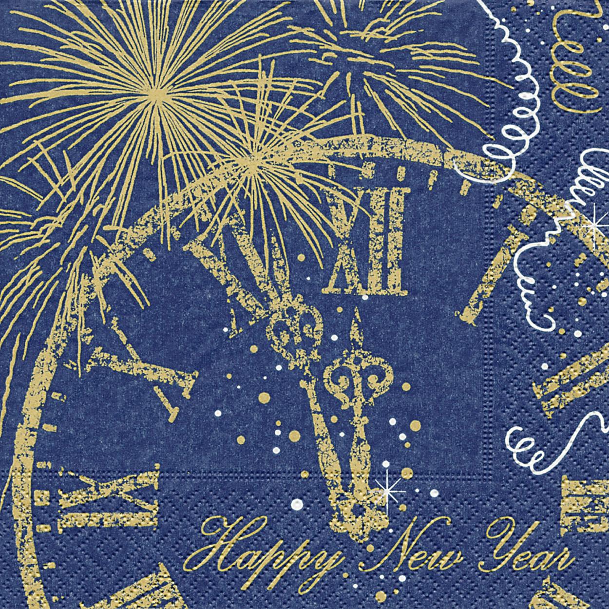Servietten 33x33 cm - Welcome New Year