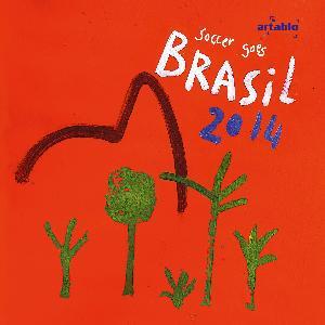 Servietten 33x33 cm - Red side from Brazil