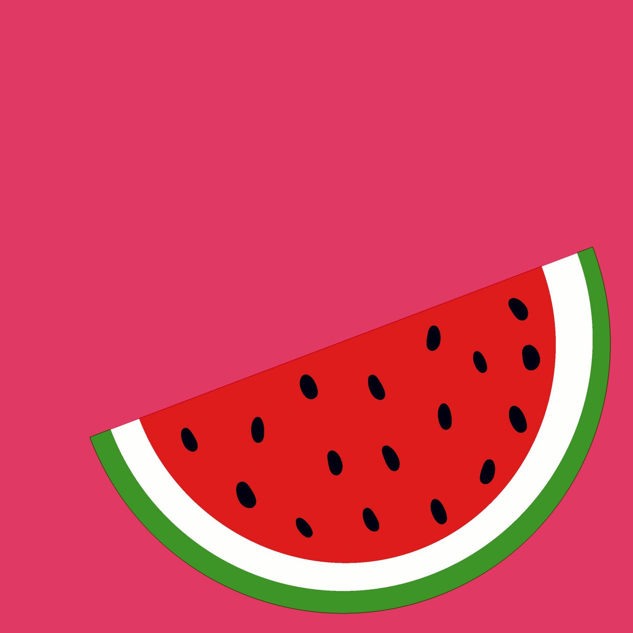 Servietten 33x33 cm - Melon