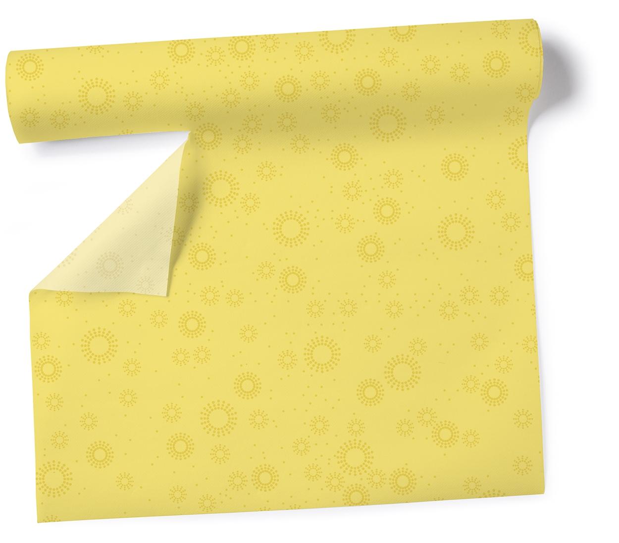 Tischläufer Moments - uni yellow