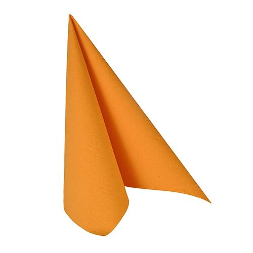 50 Servietten 33x33 cm - ROYAL Collection orange