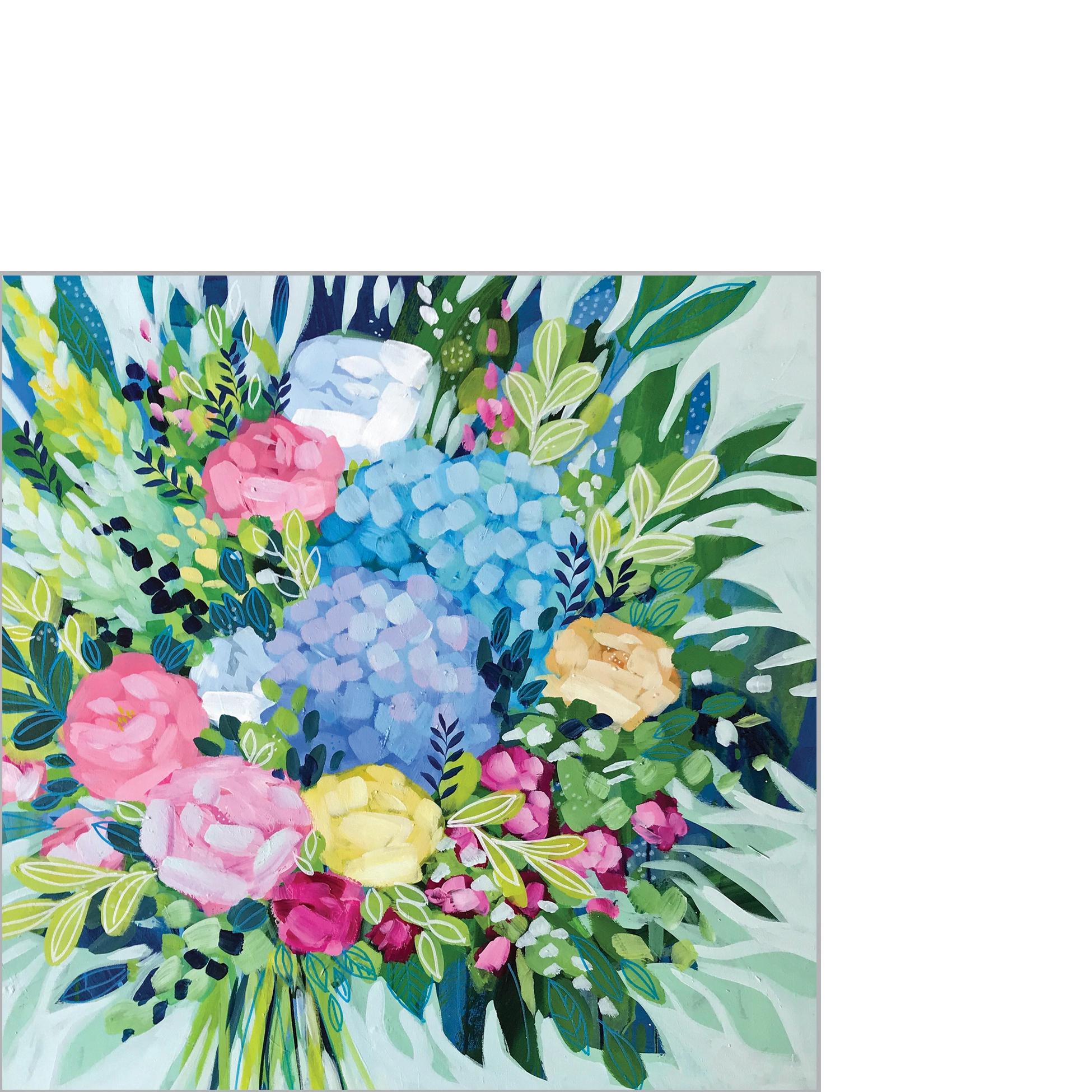 Servietten 25x25 cm - Royal Bouquet