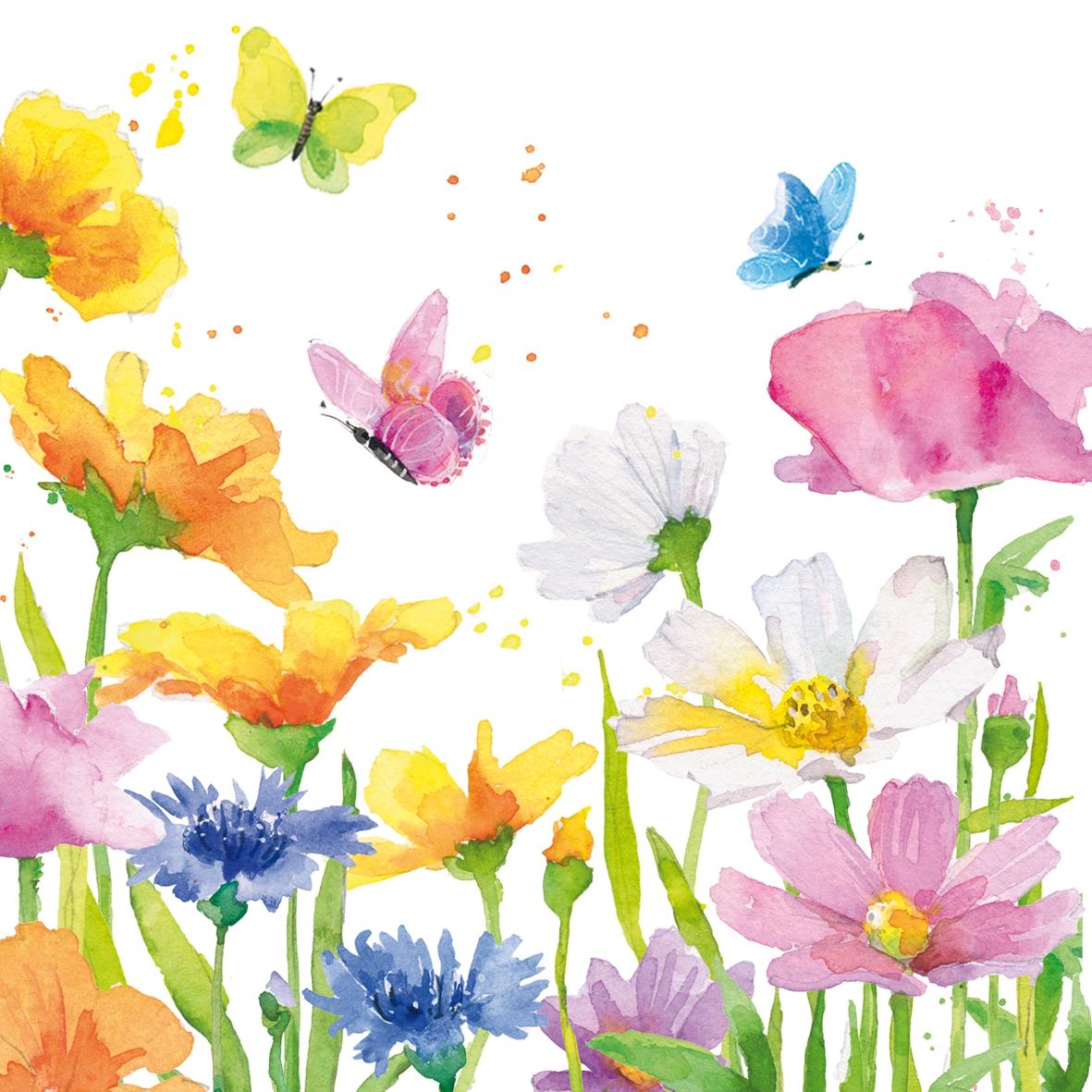 Servietten 33x33 cm - Happy Spring