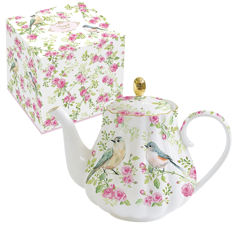 Teekanne - Spring Time
