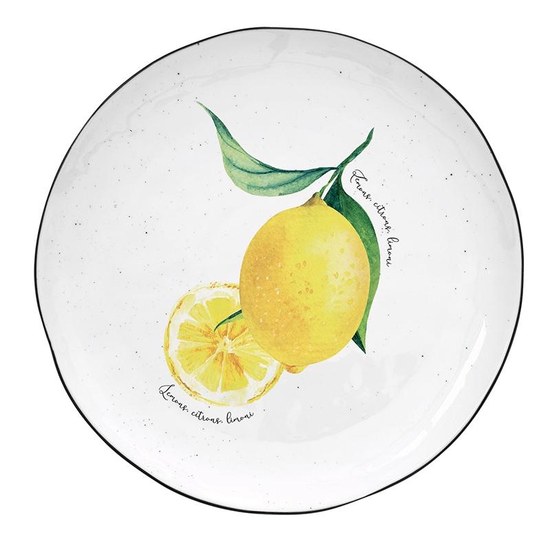 Porzellan-Teller 21cm - Amalfi