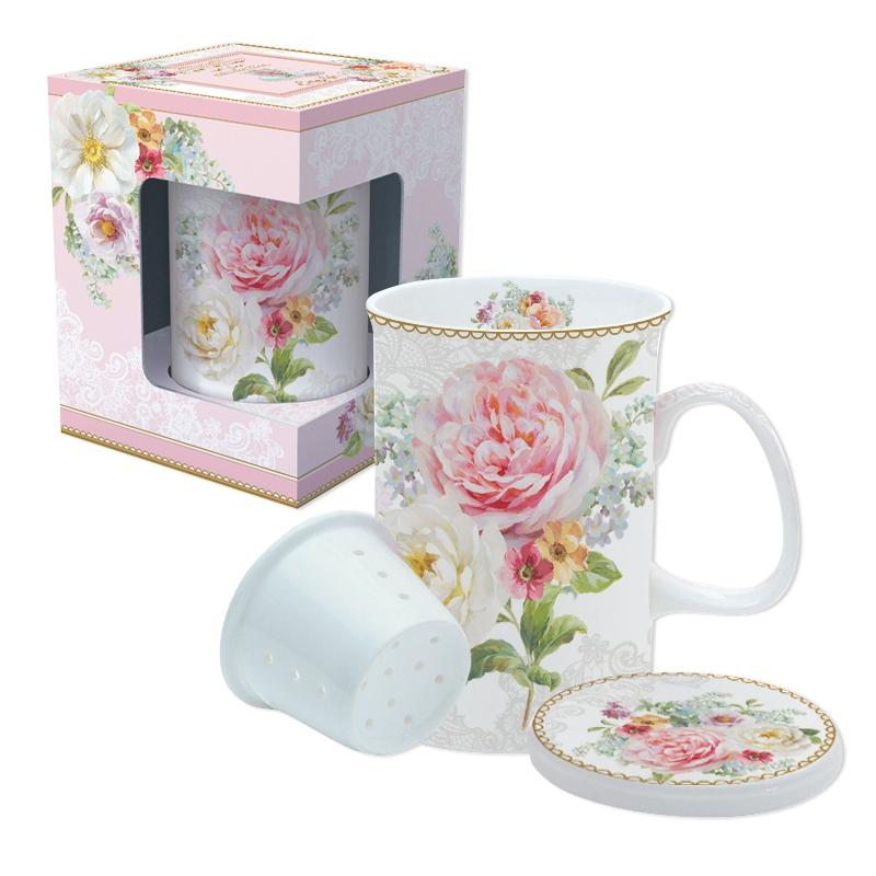 Porzellan-Tasse - Romantic Lace
