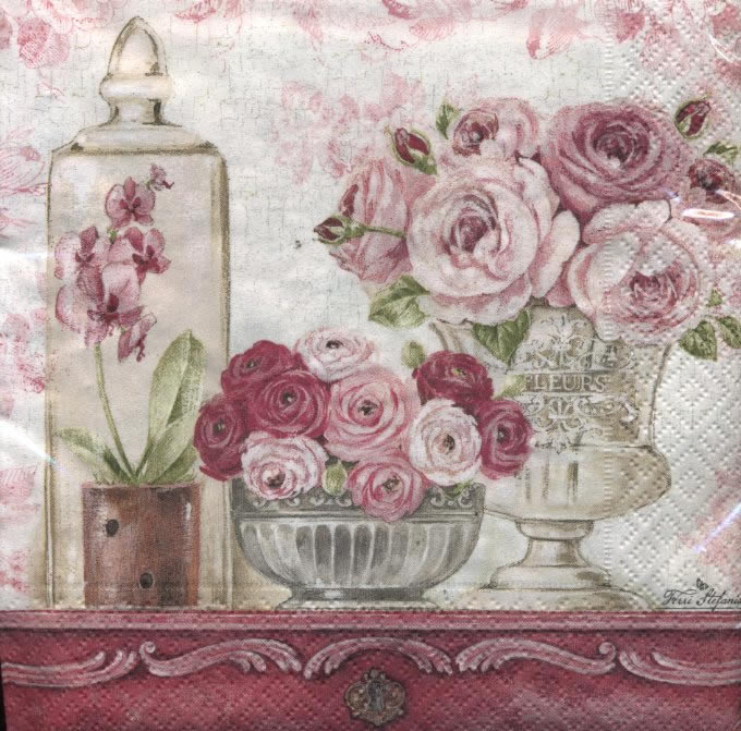 Lunch Servietten SHABBY ROSES