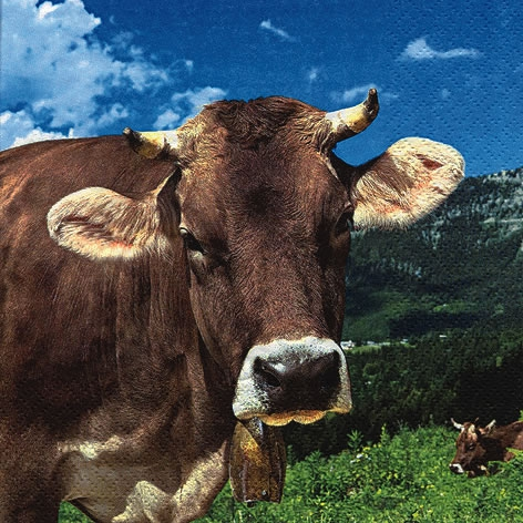 Servietten 33x33 cm - Cow Wally