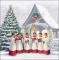 Servietten 33x33 cm - Singing Choir
