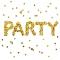 Servietten 33x33 cm - Party