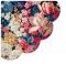 Servietten - Rund - Flower Splendor