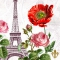 Servietten 33x33 cm - La Tour Eiffel